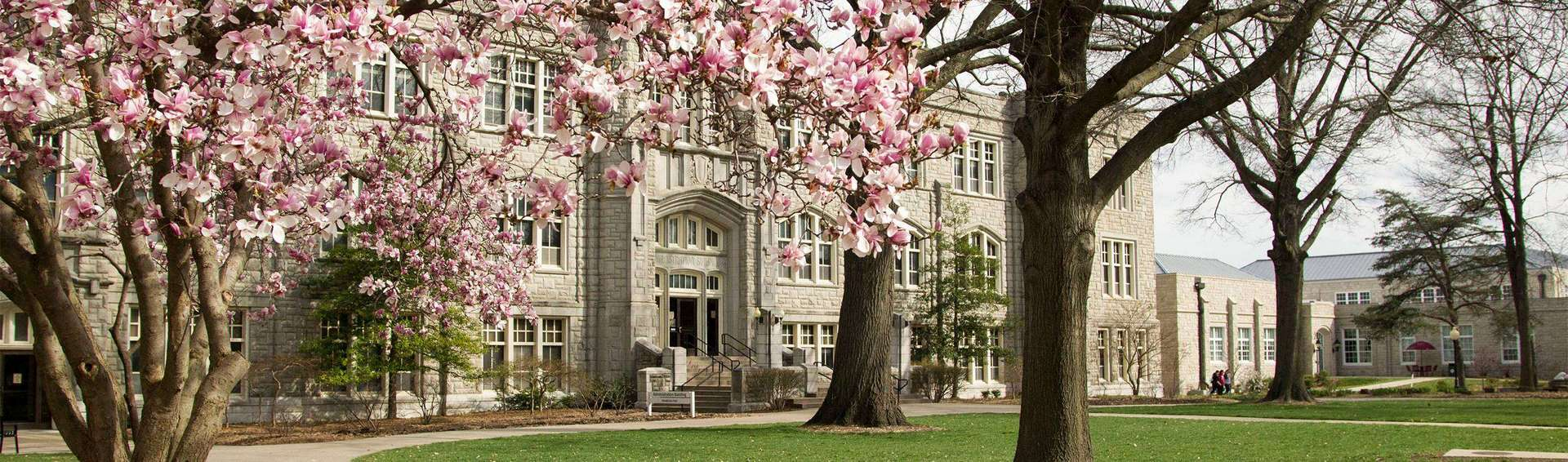 Administration Building in Spring