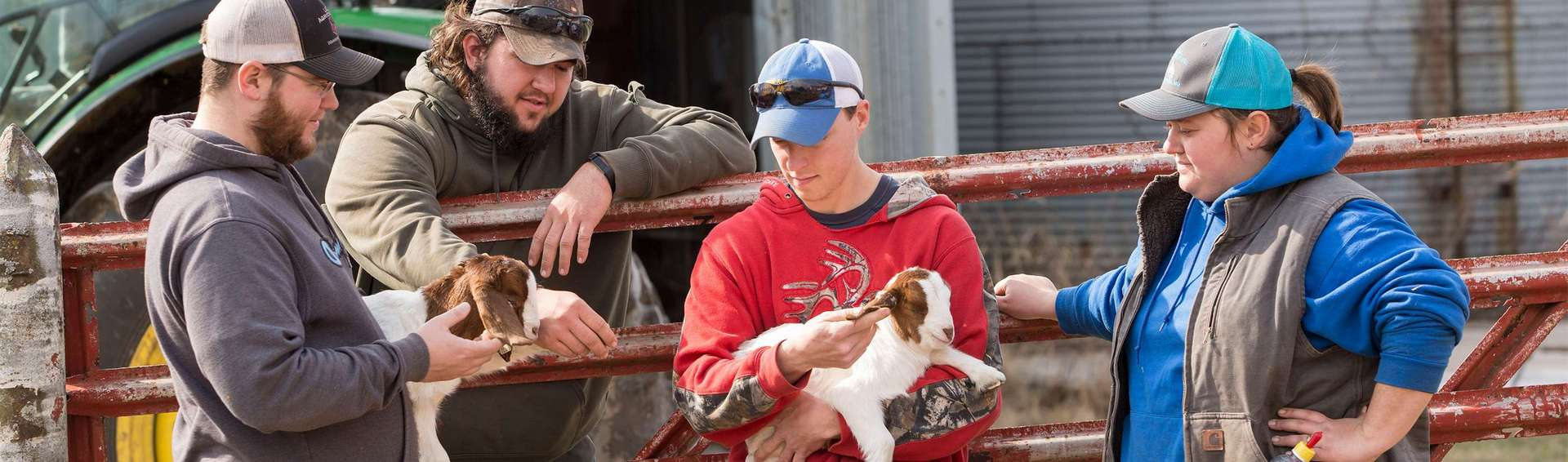 Real-world experience at the UCM Farm