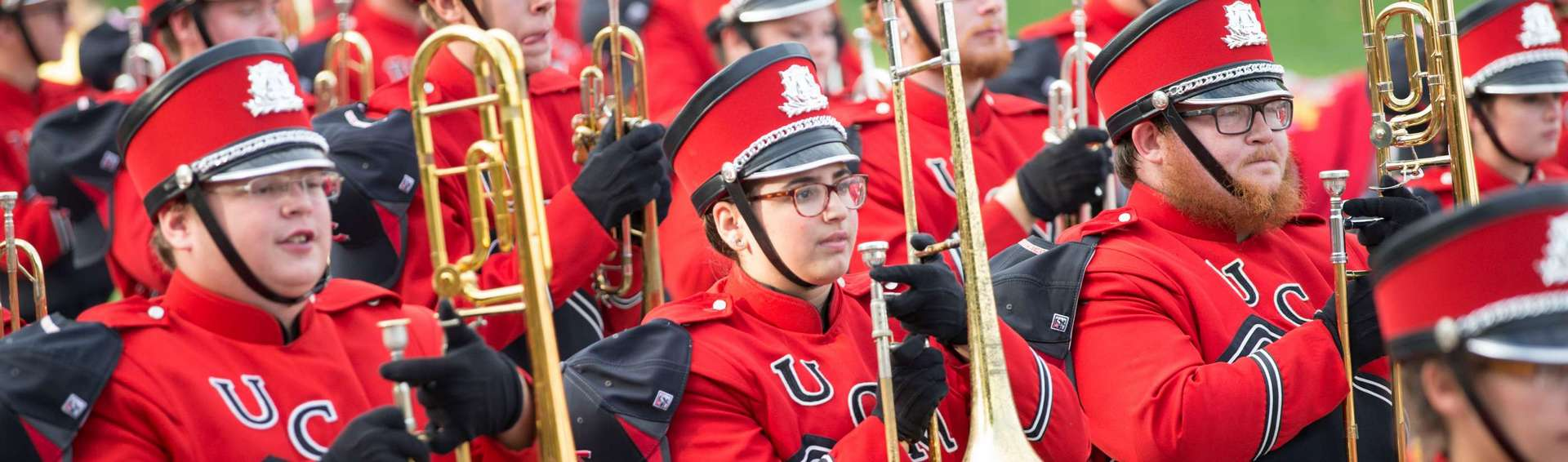 UCM Marching Mules at Homecoming Parade