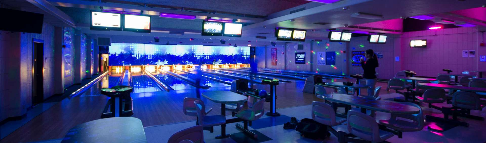 UCM bowling alley