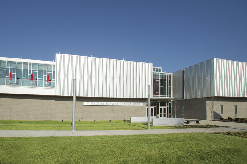 MIC building exterior view